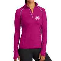 Ladies Quarter Zip Thumbnail