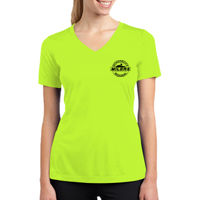 Ladies' Racermesh V-Neck T-Shirt Thumbnail